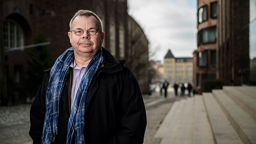Per Lundqvist, new vice rector for sustainable development at KTH.